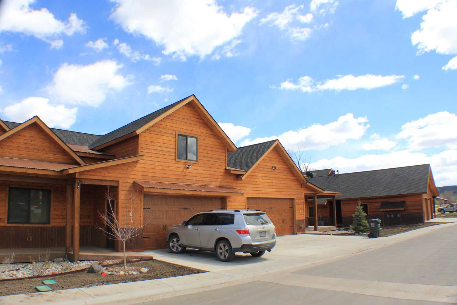 Cobblestone Townhome Community in Pagosa Springs Colorado built by BWD Construction