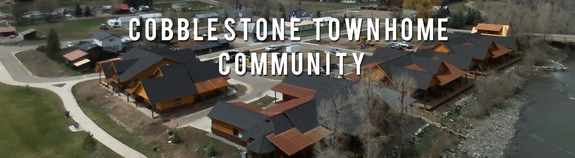 Cobblestone Townhome Community in Pagosa Springs Colorado